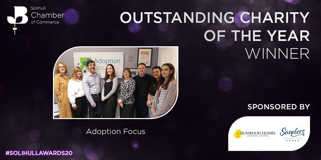 Adoption Focus Named Charity of the Year