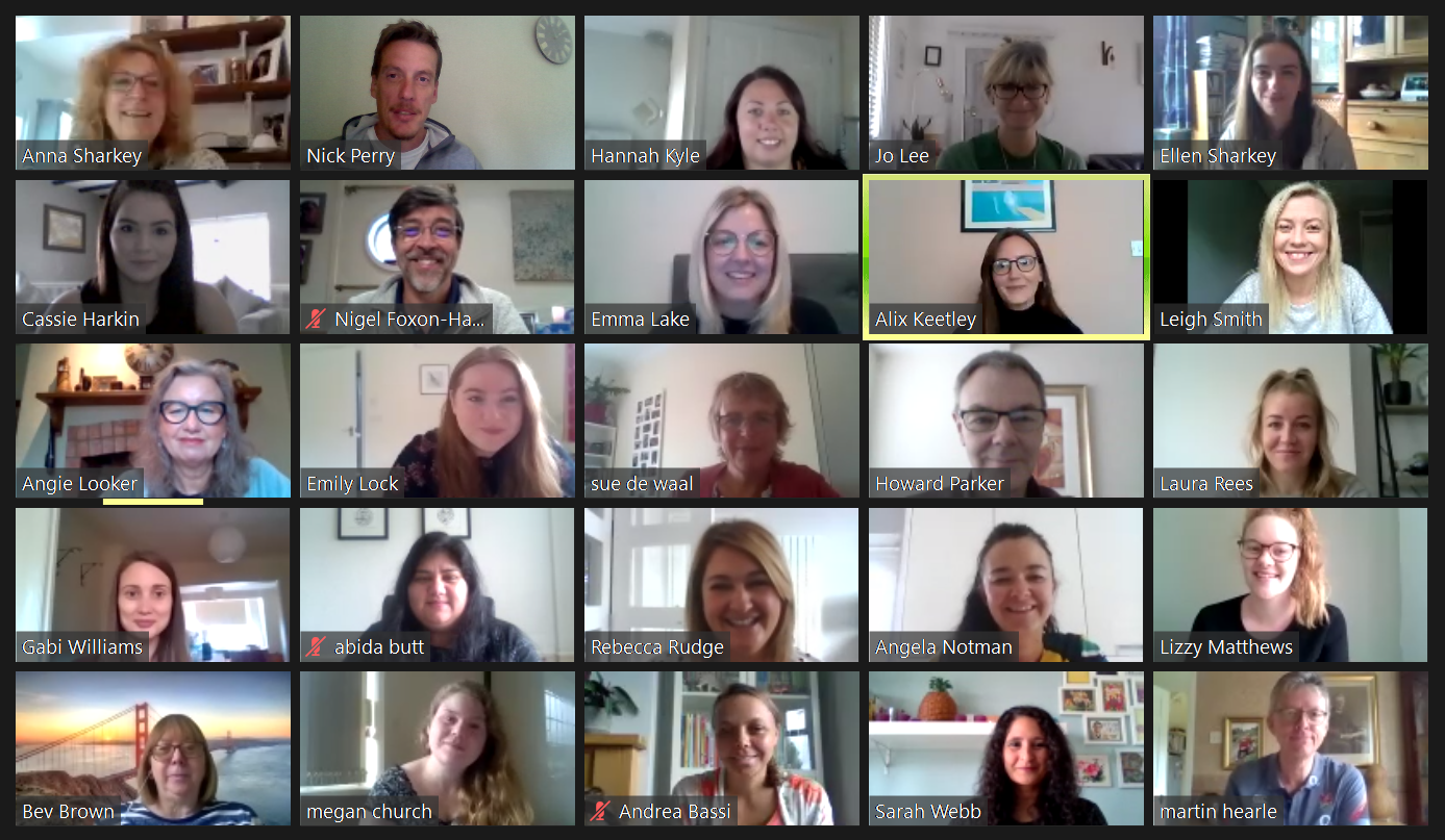 Adoption Focus Team via Zoom