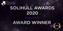 Solihull award winner 2020 logo
